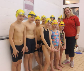 Colchester Academy swimmers selected to join main Club